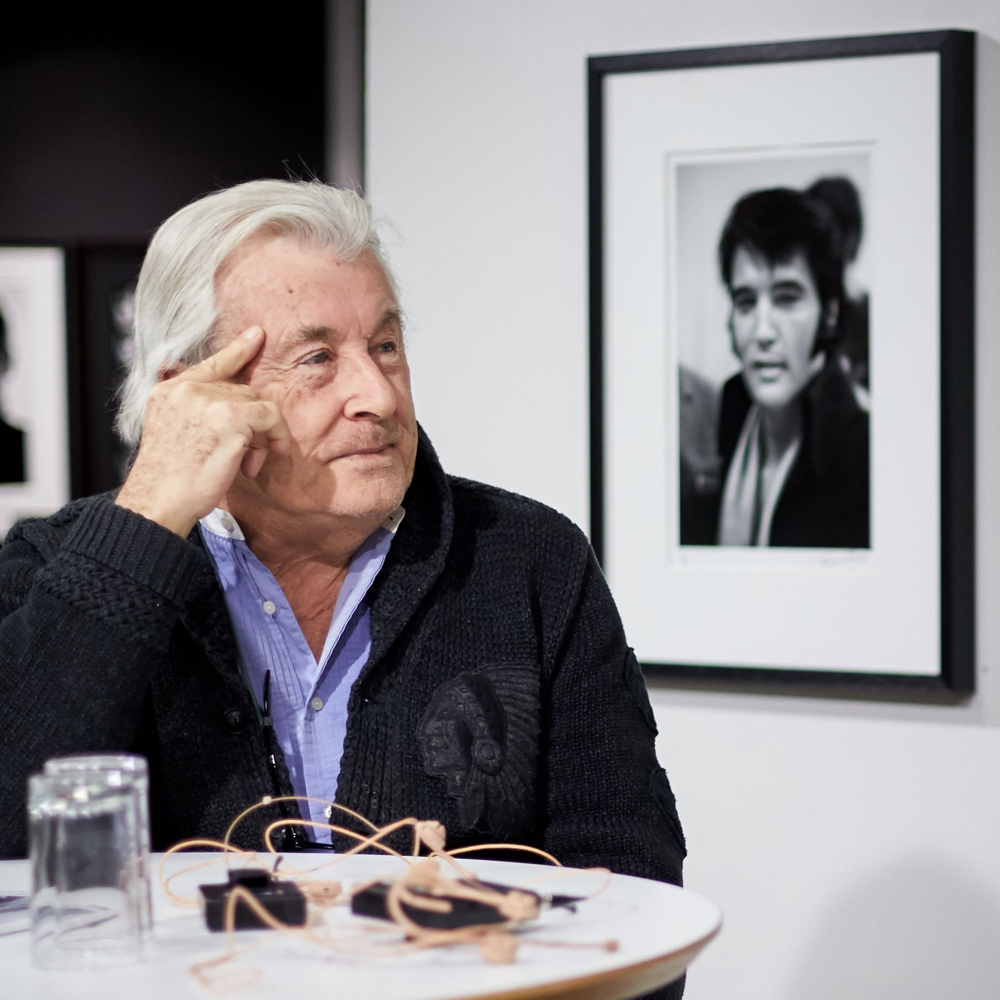Terry O'Neill at the Oslo Exhibition