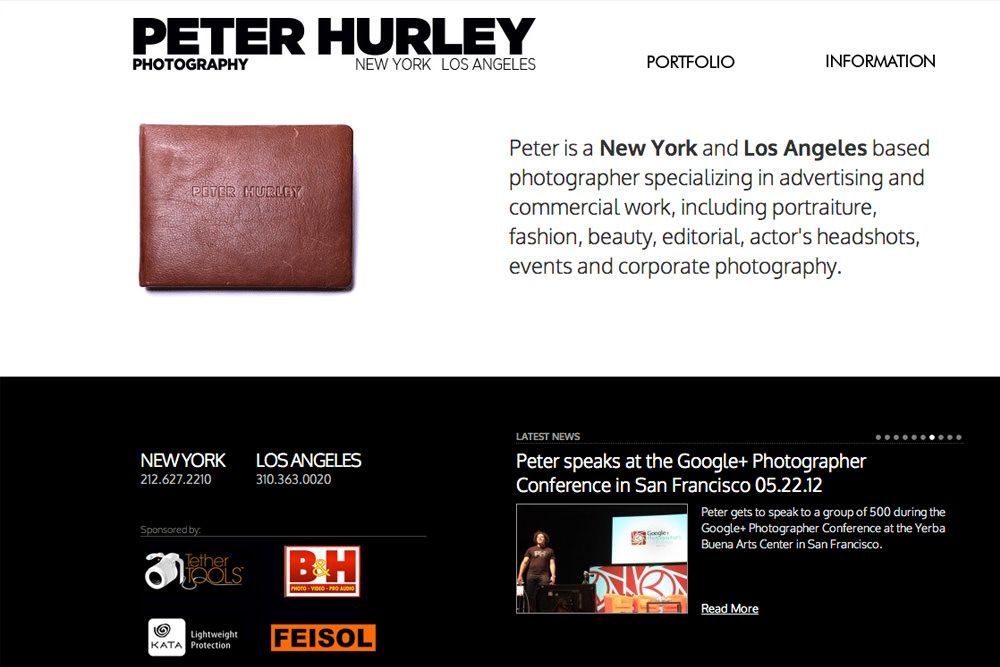 Attending Peter Hurley's Headshot Intensive in Stockholm